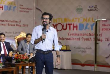Umair Jaliawala International Youth Day 2019