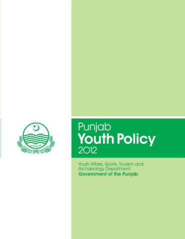 Punjab Youth Policy 2012